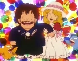Midori and Senbei Married