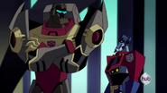 Optimus look at Grimlock