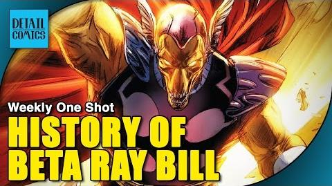 The Origin of Beta Ray Bill Who He Is & How He Became Worthy Weekly One Shot