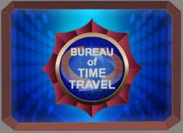 Bureau of Time Travel Logo