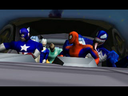 Spiderman psx spidey venom c america black cat and dr octopus
