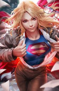 Supergirl Vol 7 36 Textless Variant