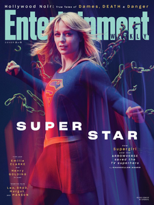 Supergirl season 5 - Entertainment Weekly cover