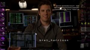 Cameron Price (Bret Harrison) - season 1 opening credit for Breaking In