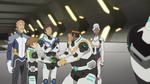 Coran, Pidge, Allura, Lance and Hunk (Before leaving)