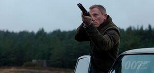Daniel Craig as James Bond Skyfall