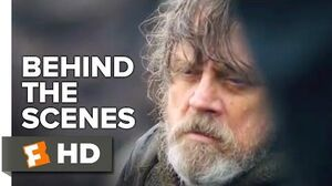 Star Wars The Last Jedi Behind the Scenes - Luke's Internal Struggle (2018) Movieclips Extras