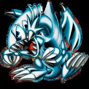 Blue eyes toon dragon png by carlos123321-d98q510