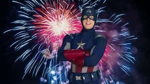 Captain America's Illegal Firework PSA (Spider-Man Homecoming)