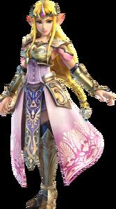 Hyrule Warriors - Zelda Artwork