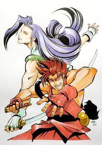 KazamaBrothers ShiroiEiji