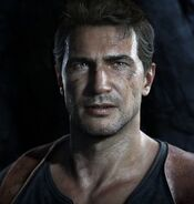 Nathan Drake in Uncharted 4- A Thief's End