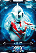 Ultraman X Zoffy Card Alternate Cover 2