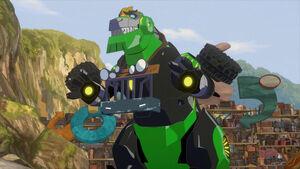 Grimlock's Truck Disguise