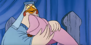 Lady kluck maid marian comfort