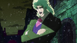 Robert Edward O. Speedwagon in the anime