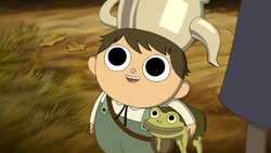 Greg and his pet frog