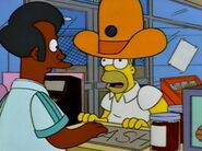 Homer and apu