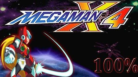 Mega Man X4 ZERO - Walkthrough 100% HD