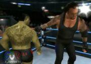 The Undertaker possessing Santino
