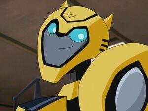 Bumblebee Animated Heroic Grin