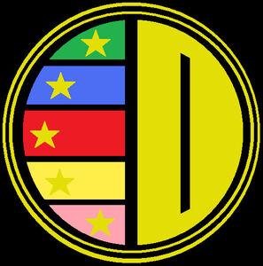 Dairanger symbol r by alpha vector-d4oodo3