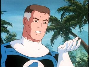 Mr. Fantastic animated