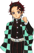 Tanjiro colored body 2