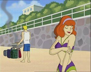 Daphne in Beach 02