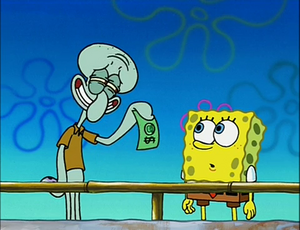 Squidward and SpongeBob (Clams)