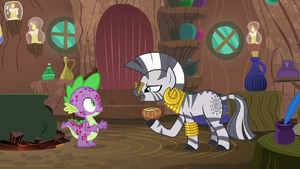 Zecora the smell is the most likely cause S8E11