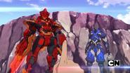 Cyndeous and Fade Ninja on the island