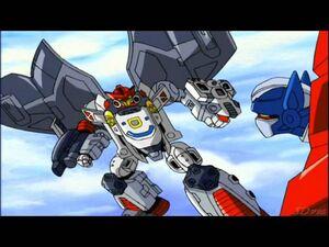 Jetfire look Optimus