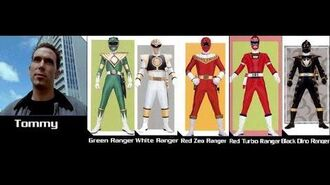Power Rangers The Evolution Of Tommy Oliver (1993-2018)