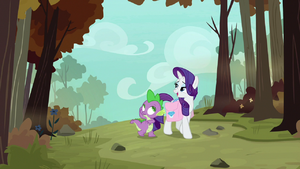 Rarity the way to the phoenix nests S8E11