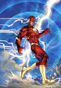 The Flash (Jim Lee Art Cover)
