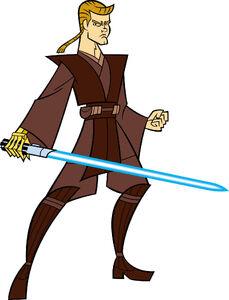 Anakin Skylwalker Clone Wars 2003