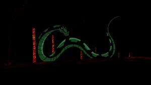 Beast Boy as Python
