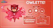 Owlette Stats