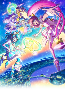 Star Twinkle PreCure Movie Poster Visual