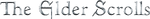 Elder Scrolls Logo