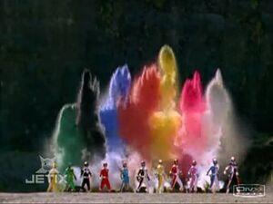 Normal TvT Power Rangers Operation Overdrive 20 Once A Ranger double length TDIS-usotsuki 97169