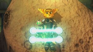 Ratchet and Clank in distress