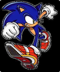 Sonic (Soap Shoes)