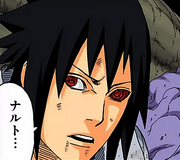 Sasuke's colored Rinnegan
