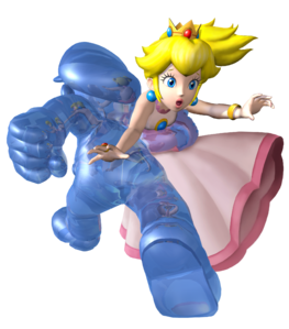 Shadow Mario and Peach SMS