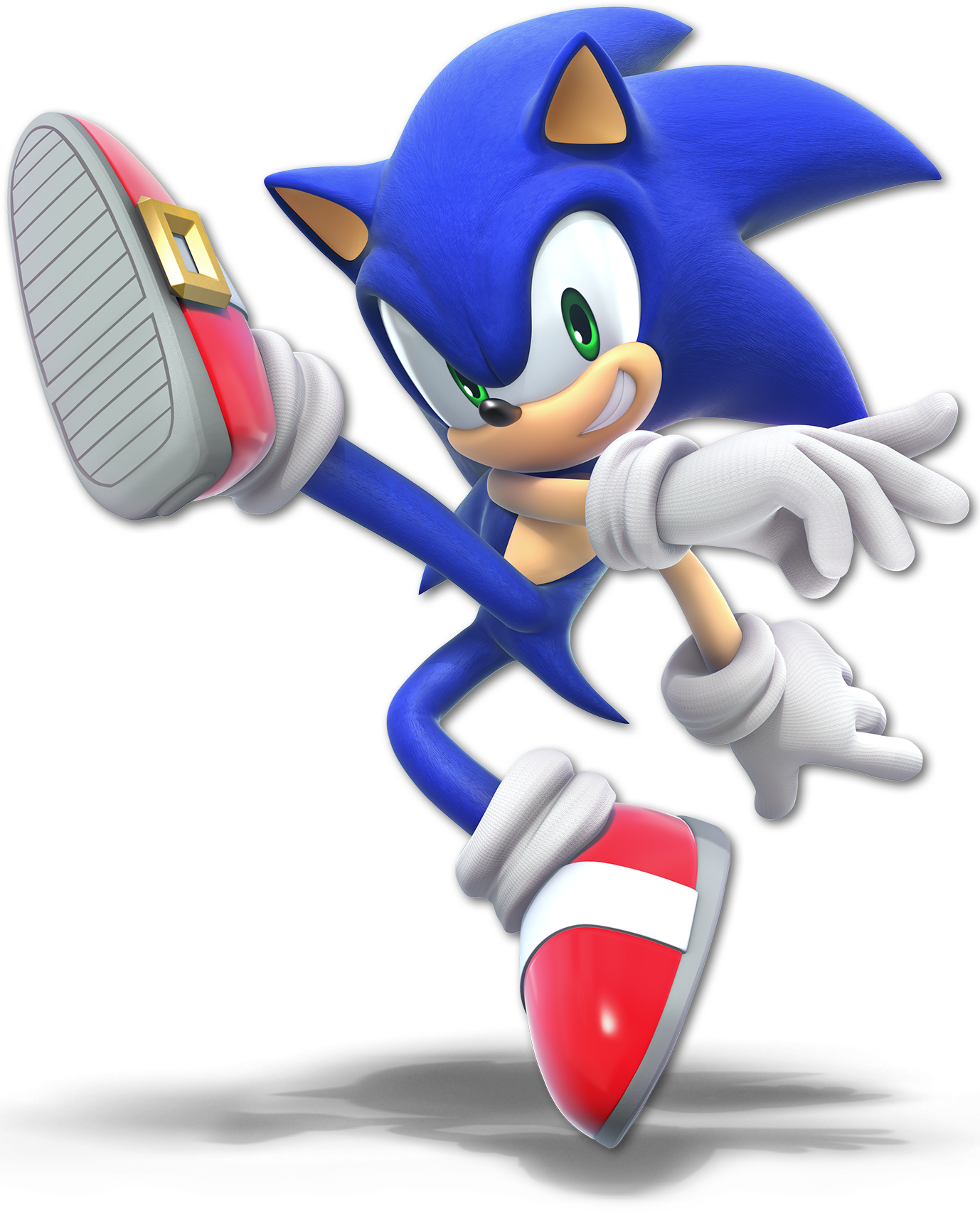 This is a picture of Playful Sonic the Hedghog Images