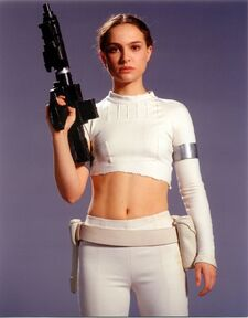 Padme funeral water dress and pregnant