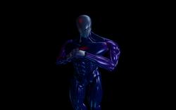 Cyborg rise of the robots dos screenshot