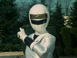 Delphine White Ranger